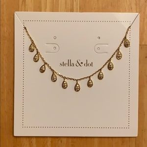 Stella & Dot Willa choker, Gold